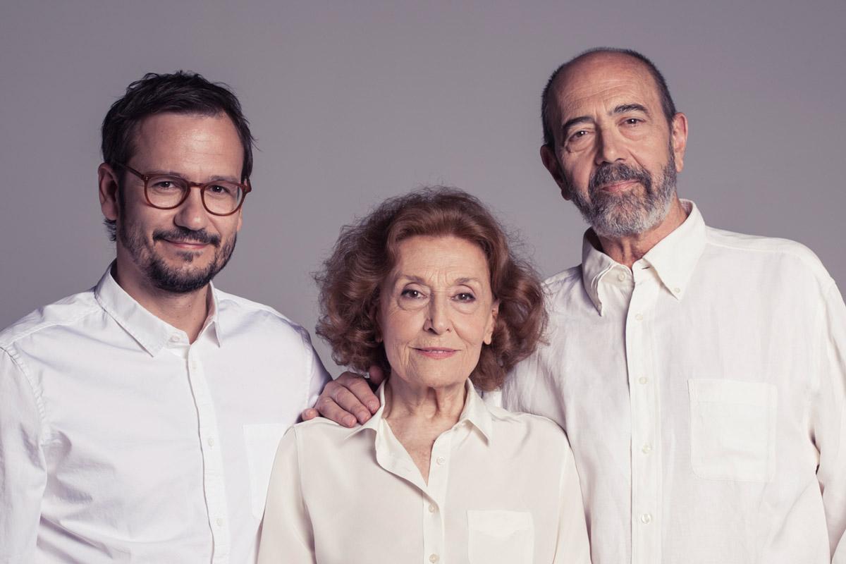 Cartas de Amor::Julia Gutiérrez Caba, Miguel Rellán y David Serrano