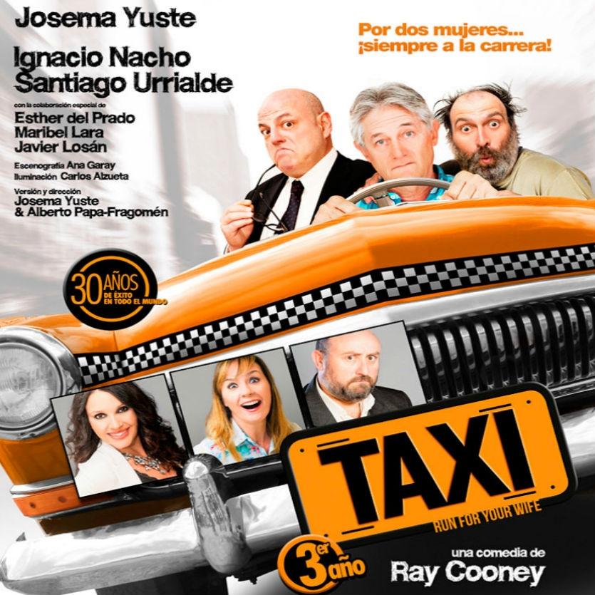 El Taxi más cómico y divertido llega en septiembre al Teatro Maravillas de Madrid