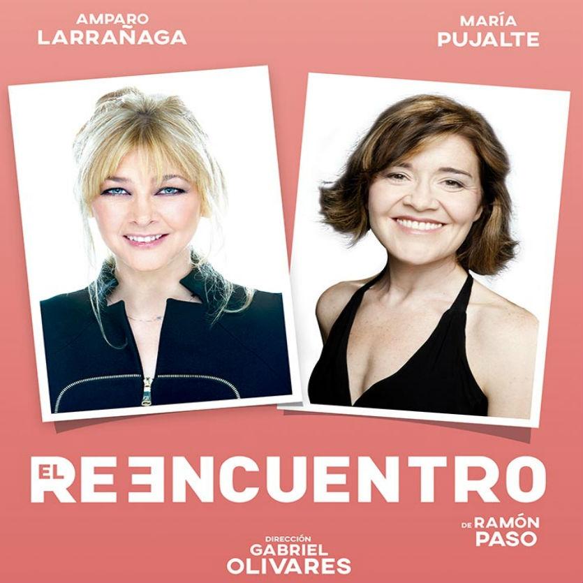 Amparo Larrañaga y María Pujalte se reencuentran en el Teatro Maravillas